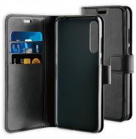 BeHello Gel Wallet Case Zwart voor Huawei P20 Pro
